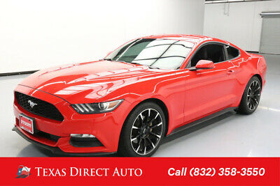2017 Ford Mustang V6 Texas Direct Auto 2017 V6 Used 3.7L V6 24V Manual RWD Coupe