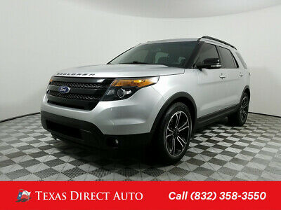 2015 Ford Explorer Sport Texas Direct Auto 2015 Sport Used Turbo 3.5L V6 24V Automatic 4WD SUV Premium