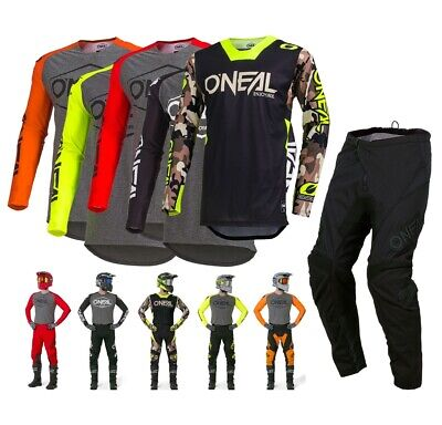 Oneal Hexx Combo 2019 Enduro Crosshose MX Shirt Jersey