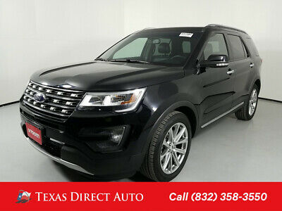 2016 Ford Explorer Limited Texas Direct Auto 2016 Limited Used Turbo 2.3L I4 16V Automatic FWD SUV Premium