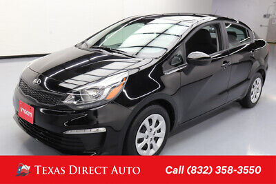 2017 KIA Rio LX Texas Direct Auto 2017 LX Used 1.6L I4 16V Automatic FWD Sedan