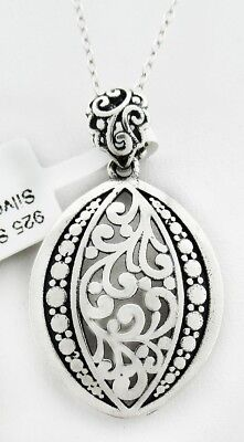 FILIGREE BRANCHES PENDANT NECKLACE .925 Sterling Silver *** NWT***