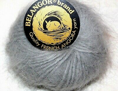 Md Pink CHERRY BLOSSOM Galler BELANGOR 100/% ANGORA Rabbit Fur X-SOFT Luxury Yarn