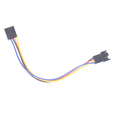 5 pin to 4 pin Fan Connector Adapter Convertion Line Extension Cable For Dell Wv