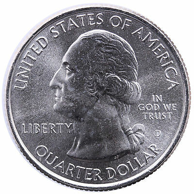 2014 D Great Smoky Mountains National Park Quarter - Brilliant Uncirculated
