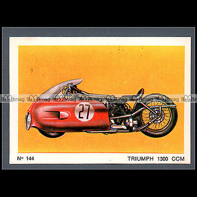 #MTP144 ★ TRIUMPH 1300 STREAMLINER 'CYCLOTRON' ★ Carte Moto Motorcycle card