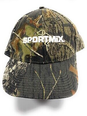 SportMix Dog Food Camouflage Baseball Cap Hat Midwestern Pet Foods CO-OP