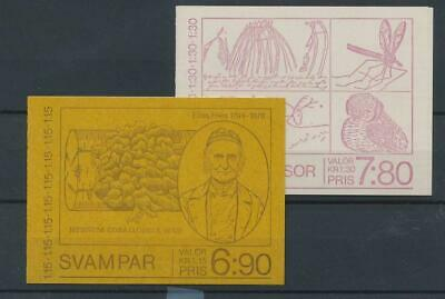 [110923] Sweden 2 good complete booklets very fine MNH
