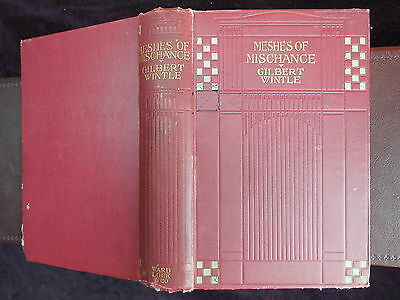GILBERT WINTLE: MESHES of MISCHANCE/HAROLD PIFFARD PICTURES/RARE 1906 1st, $80+