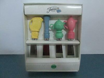 Fiesta Genuine Accessories Copco 4 Spreaders Pink Blue Green & Yellow Never Used