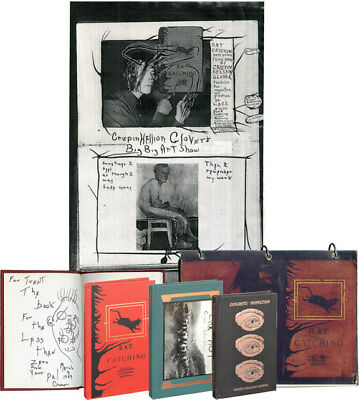 UNIQUE COLLECTION OF INSCRIBED FIRST EDITIONS AND EPHEMERA BY Signed #119632