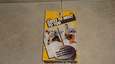 The Boston Bruins & Ccm Present Hockey From Oates To Neely To You -  Vhs Tape