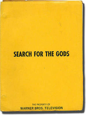 Jud Taylor SEARCH FOR THE GODS Original screenplay for the 1975 film #137262