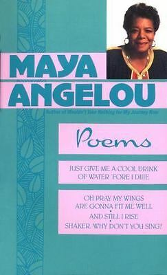 Maya Angelou: Poems, Maya Angelou,0553255762, Book, Good