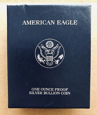 2005 Silver American Eagle One Dollar PROOF Coin 1 oz - West Point - U.S. Mint