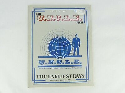 1980s Man from UNCLE - Files Magazine Reference Book - The Earliest Days