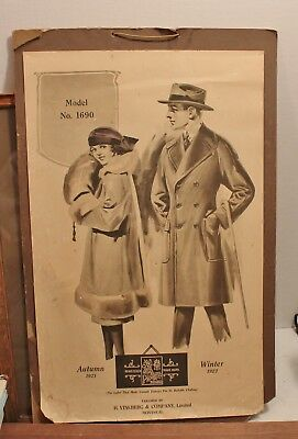 H.Vineberg & Company Limited Montreal  1921- 22 Fall & Winter Display 55x35cm