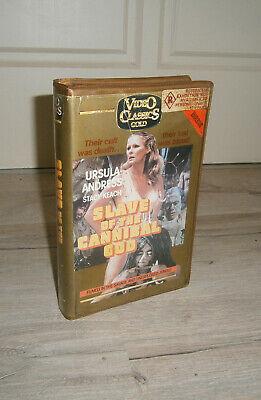 Slave of The Cannibal God (1978) VIDEO CLASSICS GOLD HORROR VHS Ursula Andress