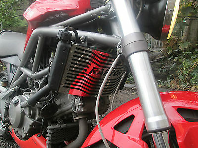 Cagiva Raptor 650 (01 onwards) Beowulf Radiator Guard, Protector, Cover, Grill