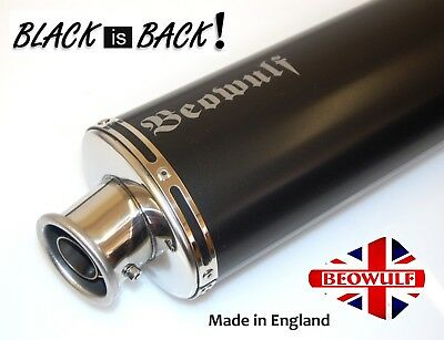 Honda CRF1000L Africa Twin 16> Beowulf Silencer Black Oval Exhaust 380 mm
