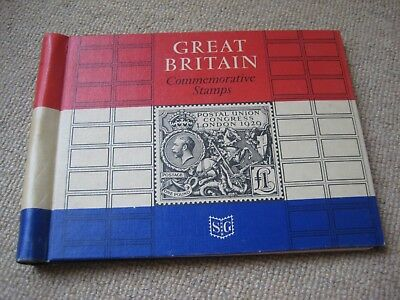 Great Britain Commemorative Stamps Stanley Gibbons Album 1967 50% Comp BARGAIN!!
