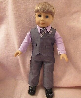 Vest 2 Set fits American Boy Doll 18 Inch Clothes Seller lsful