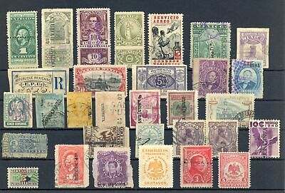 MEXICO 31 ST  Unsorted --Incl  Back Of Book -F/vf - $29 00