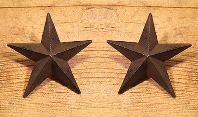X-large Cast Iron Nail Star (Set of Two) Craft 0170-02109