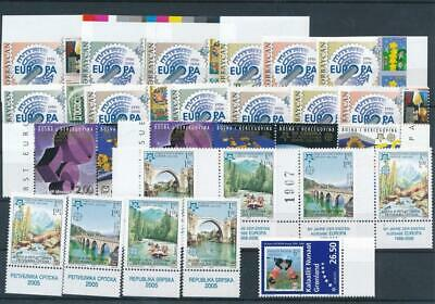 [G126790] Worldwide Europa good lot of stamps very fine MNH