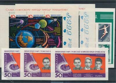 [G126901] Russia good lot of 6 sheets very fine MNH
