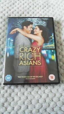 Crazy Rich Asians DVD used.Constance Wu, Henry Golding, Michelle Yeoh