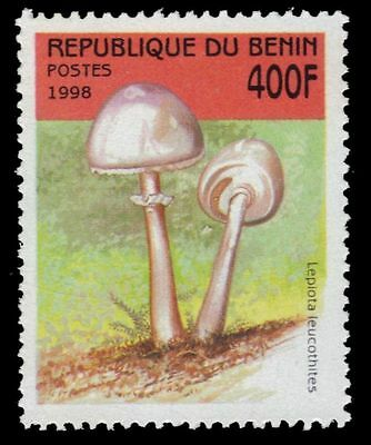 Never Hinged 1998 Mushrooms Excellent In Shop For Cheap Benin 1009 Unmounted Mint Quality