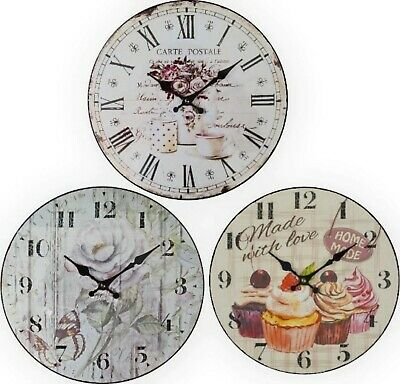 Large wall Clock with Quarts movement for precise time keeping