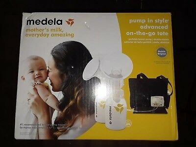 New Medela Pump In style advanced double electric breast pump with tote