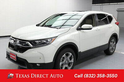 2018 Honda CR-V EX-L Texas Direct Auto 2018 EX-L Used Turbo 1.5L I4 16V Automatic AWD SUV