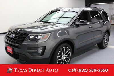 2016 Ford Explorer Sport Texas Direct Auto 2016 Sport Used Turbo 3.5L V6 24V Automatic 4WD SUV Premium