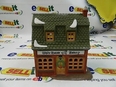 "Dept 56 Heritage Village Collection Dickens Village Series "" White Horse Bakery"