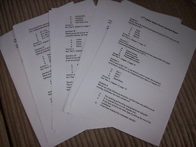 18th Edition Wiring Regulations MOCK EXAM Papers BS7671 (EMAILED PDF) Blue Book