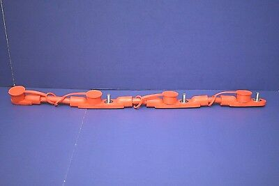 Red Positive Overmolded 4 Battery Cable Harness Freightliner Sterling ++++