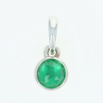 3b1ea8afb NEW Authentic Pandora May Droplet Pendant Sterling Green Crystal Charm  390396NRG