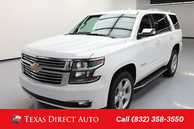 2018 Chevrolet Tahoe Premier Texas Direct Auto 2018 Premier Used 5.3L V8 16V Automatic RWD SUV Bose OnStar