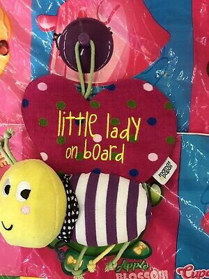Mamas & Papas Little Lady Baby On Board Sign Cute