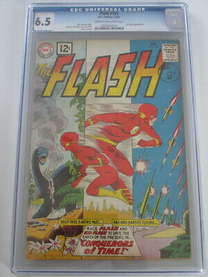 Flash #125 1961 CGC 6.5 CR/OW Pages With Kid Flash