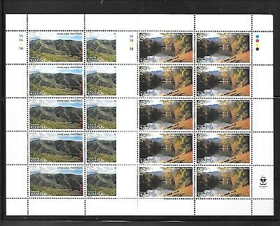 ARMENIA Sc 589-90 NH MINISHEETS of 1999 - EUROPA CEPT