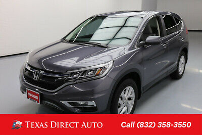 2016 Honda CR-V EX Texas Direct Auto 2016 EX Used 2.4L I4 16V Automatic FWD SUV Premium