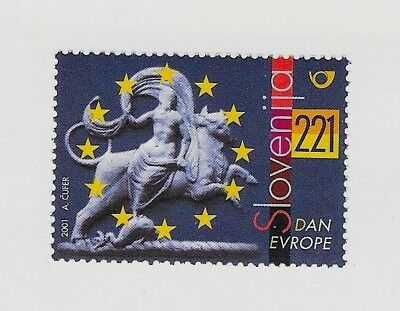 SLOVENIA Sc 455 NH issue of 2001 - EUROPE DAY