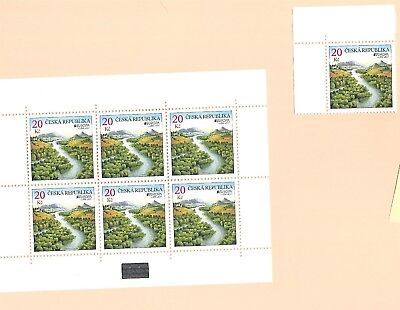 CZECH REP. Sc 3499 NH 1V+MINISHEET OF 2011 - EUROPA CEPT