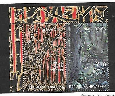 CROATIA Sc 802 NH ISSUE OF 2011 - EUROPA CEPT