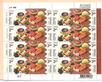 UKRAINE Sc 596 NH MINISHEET OF 2005 - EUROPA CEPT