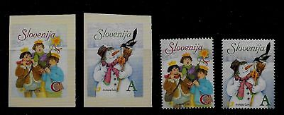 SLOVENIA Sc 682-5 NH issue of 2006 - CHRISTMAS